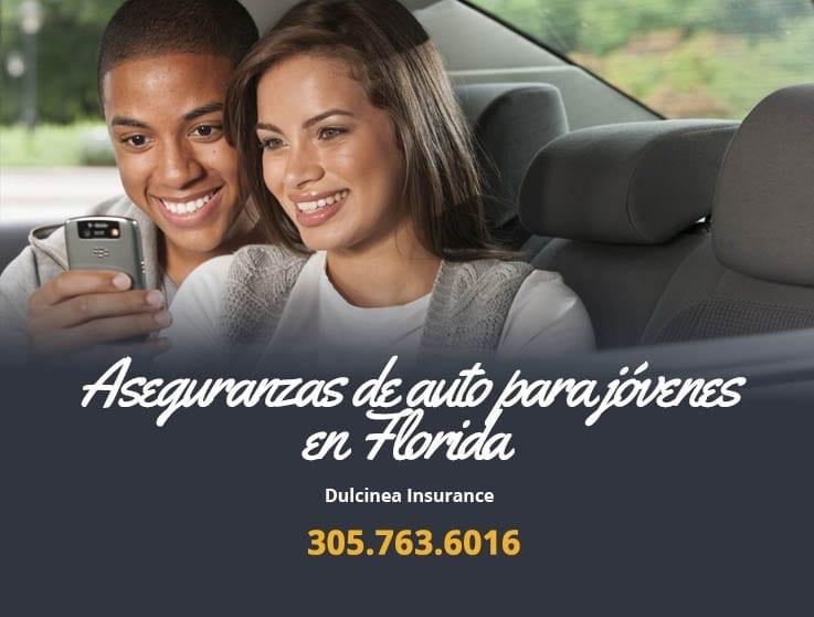 Aseguranzas de auto para jóvenes en Florida