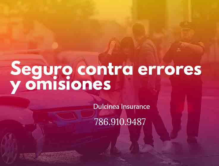 Insurance against errors and omissions