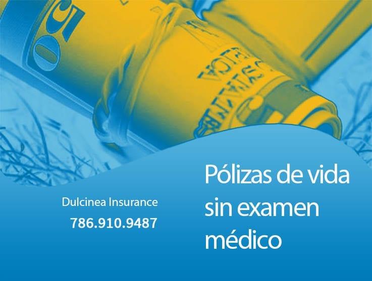 Pólizas de seguro de vida sin examen médico