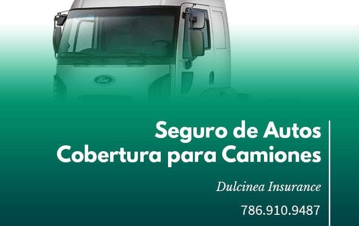 Seguro de Autos Cobertura para camiones