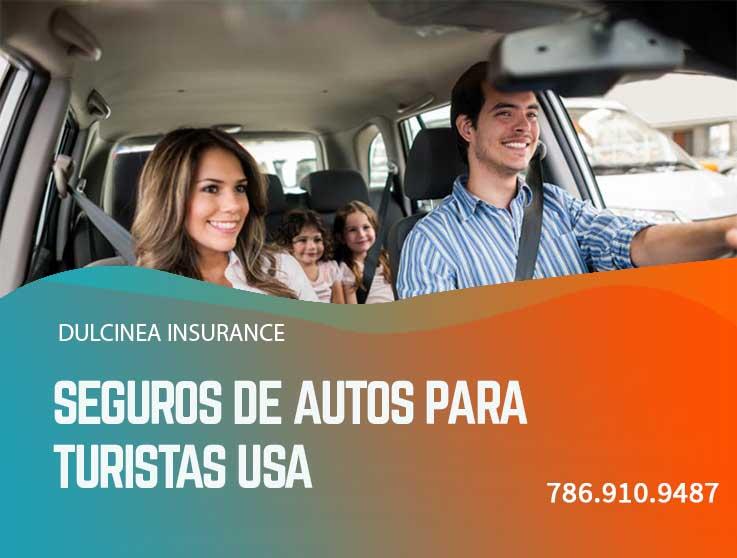 Seguros de autos para turistas USA