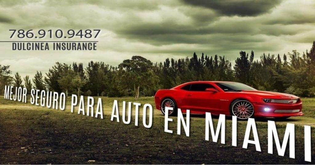 Mejor seguro para auto en Miami 2