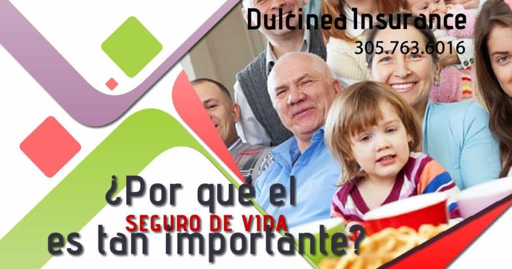 importancia de un seguro de vida dulcinea insurance