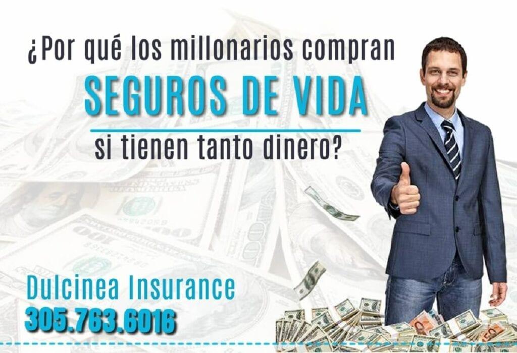 millonarios comprar seguros de vida - Dulcinea Insurance Agency