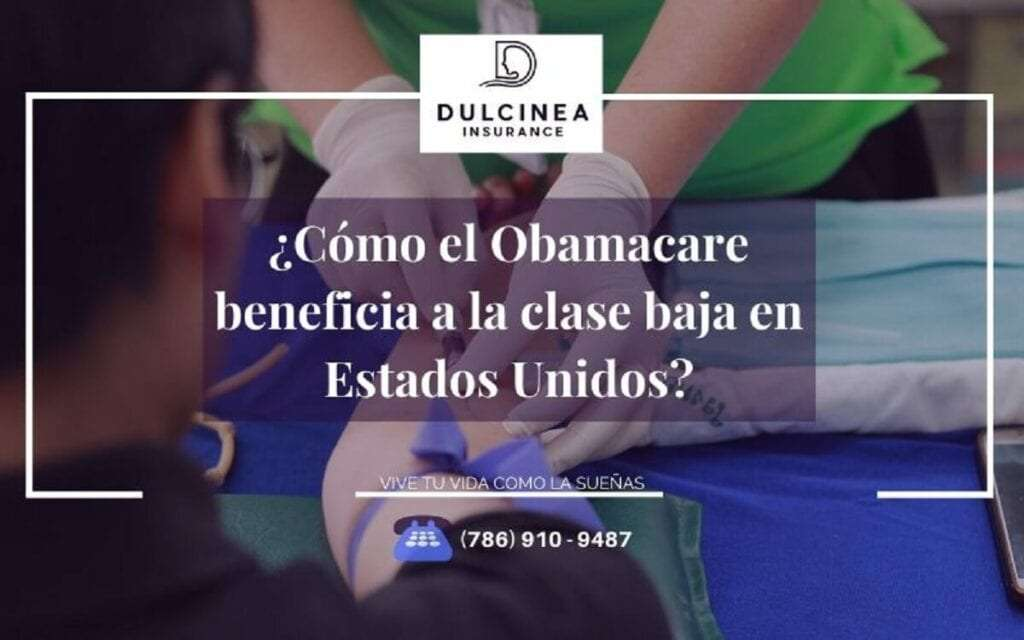 Obamacare beneficia a la clase baja y media de USA